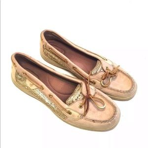 Sperry Women's Shoes Size 9.5 Angelfish Sequin